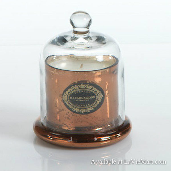 Apothecary Guild Scented Glass Dome Candle - Italian Citron