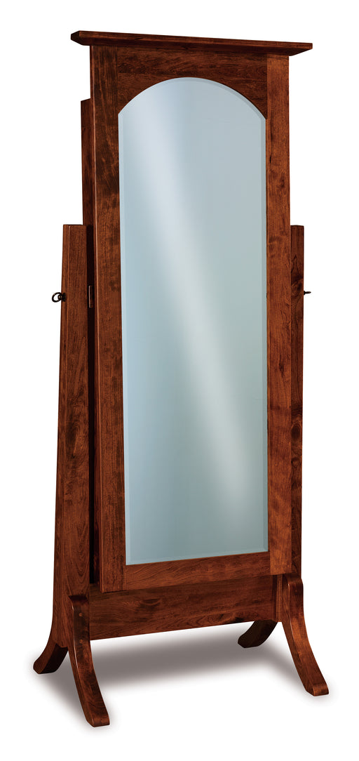 Artesa Beveled Cheval and Jewelry Mirrors