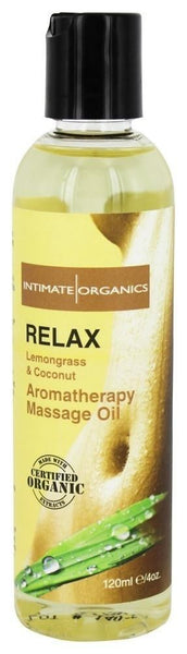 ItspleaZure Massage Oils Intomate Fresh Lemongrass & Coconut Massage Oil 120ML