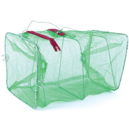 NET FACTORY - COLLAPSIBLE BAIT TRAP GREEN - 1 1/2