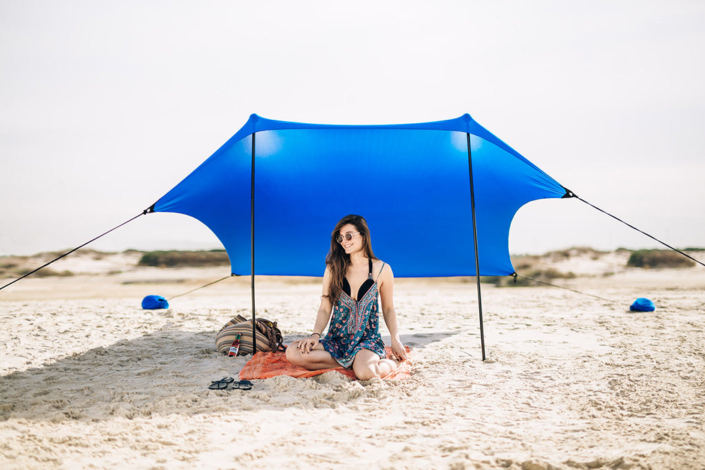 Sun shade, perfect solution for shade at the beach