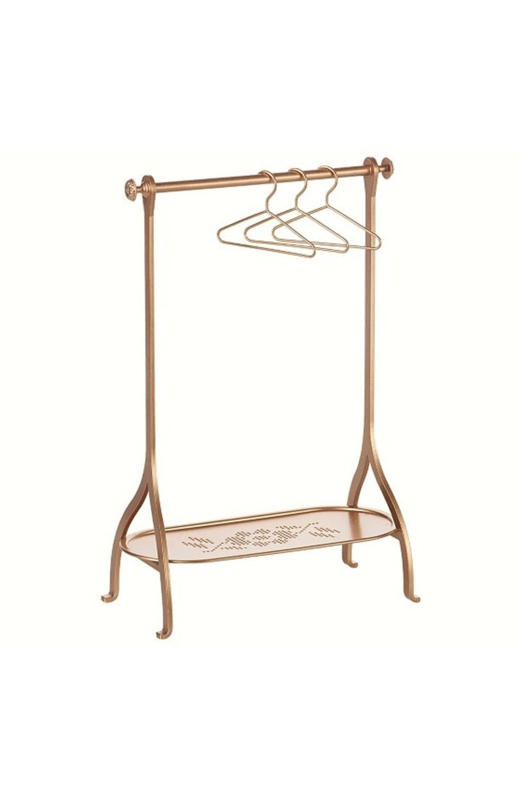 MAILEG Clothes Rack gold
