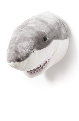 Wild and Soft Plush Wall Head Jack the Shark