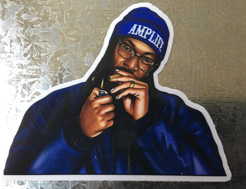 AMPLIFE™ Snoop Dogg Blazin' Sticker#Slap - Amputee Life® Clothing