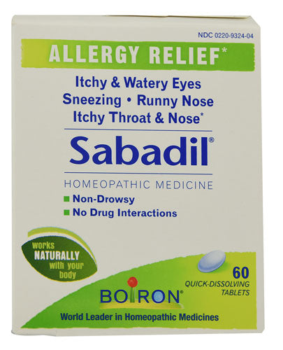 Boiron Sabadil Allergy Relief Homeopathic