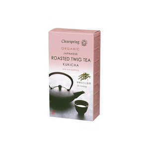 Organic Kukicha Roasted Twig Tea (20 x 2g)
