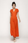 Lauretta Jumpsuit Blood Orange