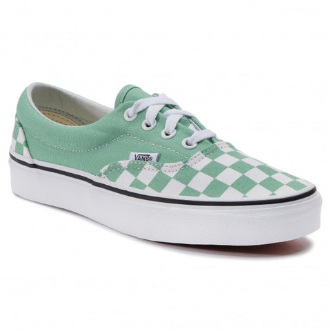 Vans Era Aqua Checkerboard Shoes NWT Sz: 7