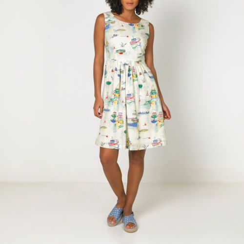 Cath Kidston Sea View Dress Sz: 10