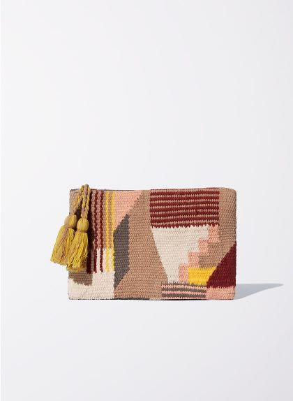 Wilfred Tapestry Clutch