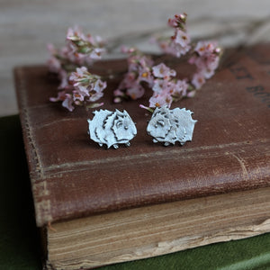 Guinea Pig Stud Earrings - Hand Cast Pewter - Everything Guinea Pig