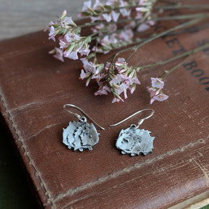Guinea Pig Wire Earrings - Hand Cast Pewter - Everything Guinea Pig