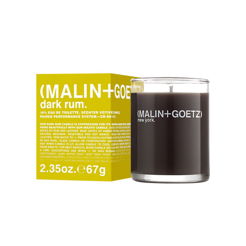 (Malin+Goetz) Dark Rum Votive (67g)