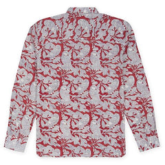 Frank Shirt: Red Parrots