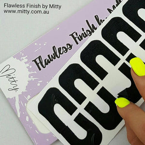 Flawless Finish Peel Off Mani Tape - Black
