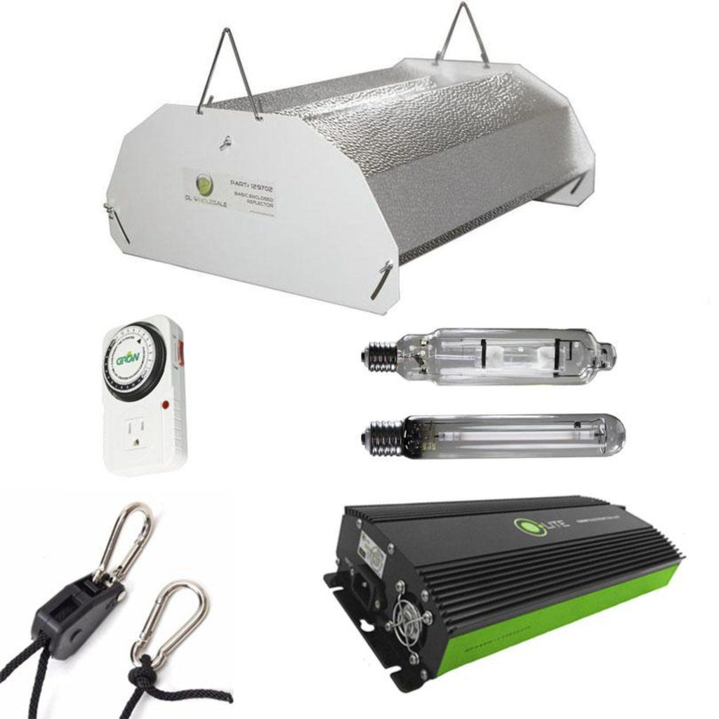 Budget Hood 600 Watt HPS And MH Grow Light Kit