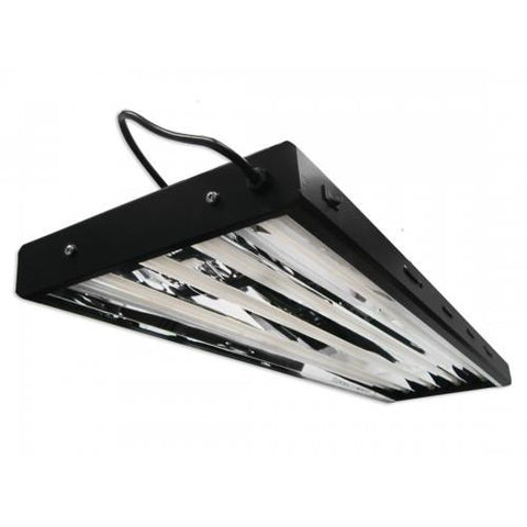 Image of Yield Lab 4 Foot 4 Bulb Fluorescent Fixture (with 54 Watt 2700K bulbs)