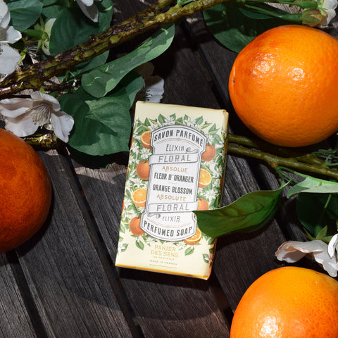 Panier des Sens Bar of Soap. Orange Blossom.
