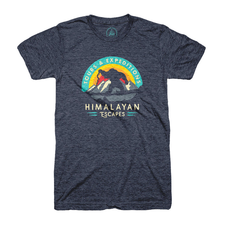 Himalayan Escapes Roller Coaster T-shirt