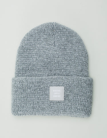 Herschel Supply Co. Abbott Beanie Reflective Grey