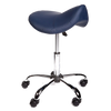 Pacific Medical Saddle Stool Navy Blue