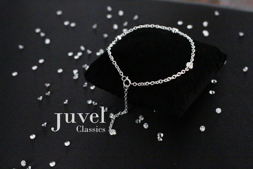 "Juvel Classic Tight-Fit 1.5"" Single Chain Bracelet"
