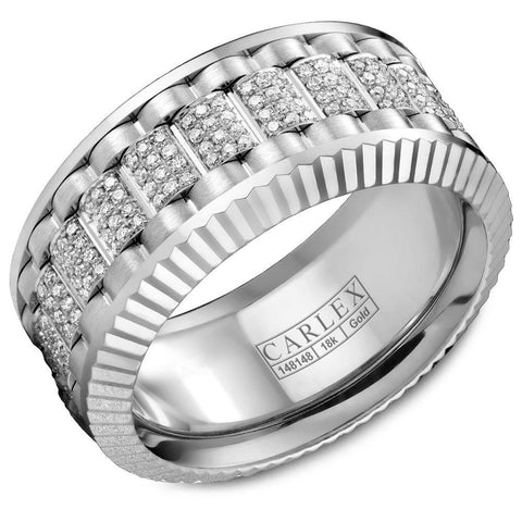 CARLEX white gold CARLEX dazzled with 264 diamonds CX3-0047WWW