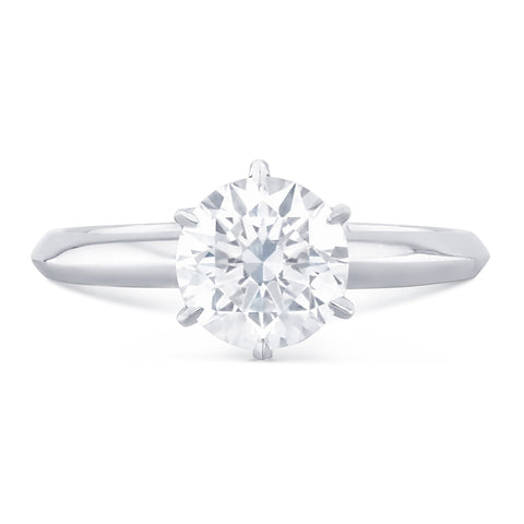Capri Solitaire Diamond Ring