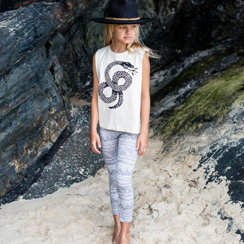 Island State Co - Balance of the Sea Muscle Tee - Groms HQ