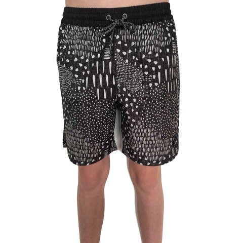 Rusty Boys Chow Mein Elastic Boardshort - Groms HQ