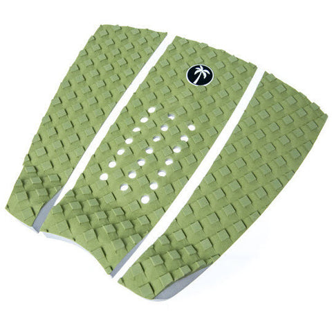 Surf Organic 3 Piece Tail Pad - Green - Groms HQ