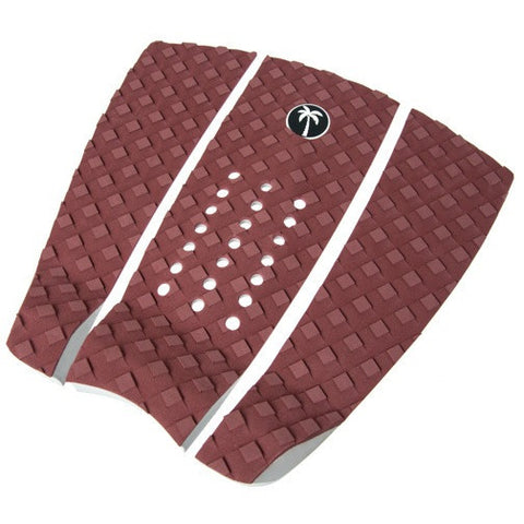 Surf Organic 3 Piece Tail Pad - Maroon - Groms HQ