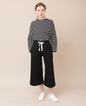 KYLE Organic Cotton Trousers In Black
