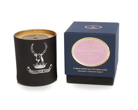 Rose & Grapefruit Premium Jar Candle No 3