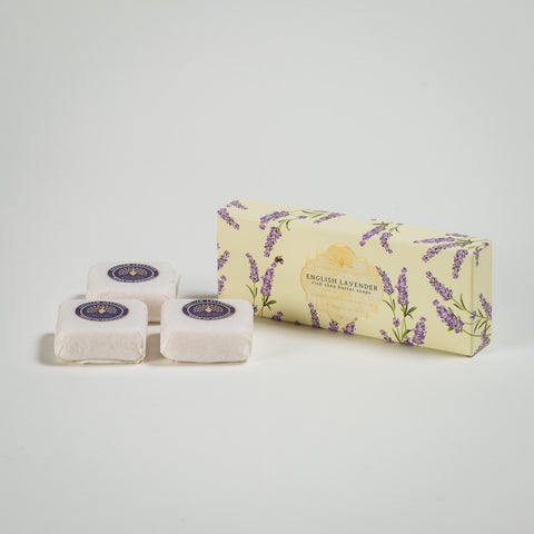 English Lavender Rich Shea Butter Soaps (x3)