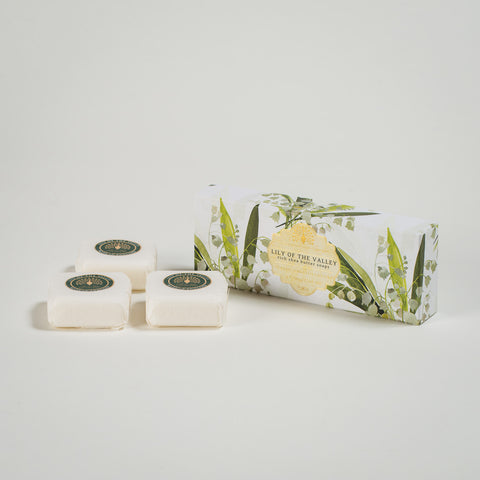 Lily of the Valley Rich Shea Butter Soaps (x3)