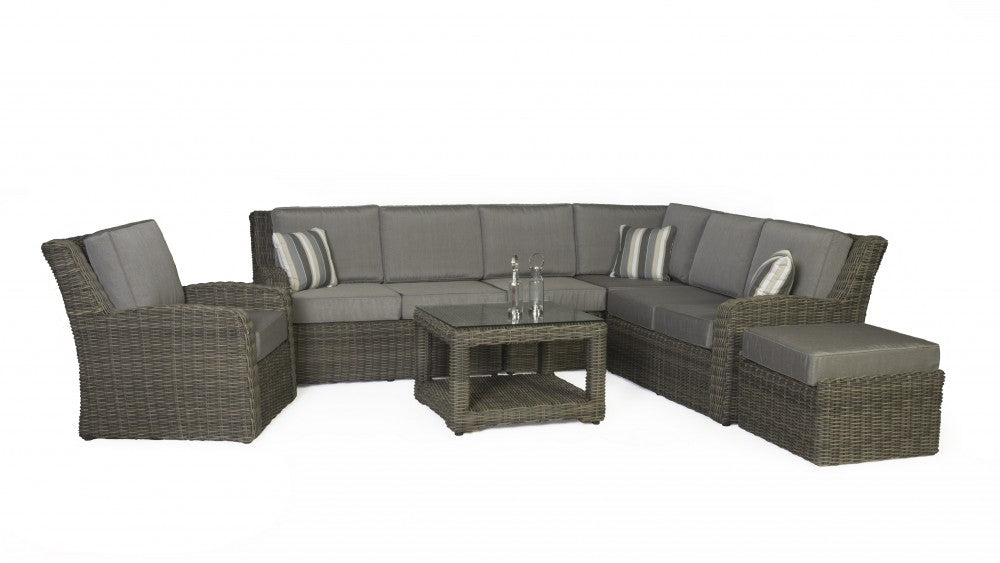 Cabernet 7 Piece Sectional Set