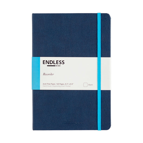 Endless Recorder Notebook - A5 Blank