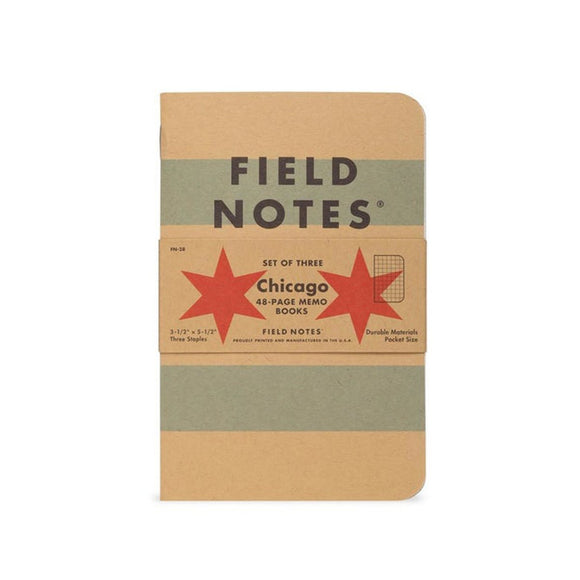 Field Notes - Chicago Edition Set of 3