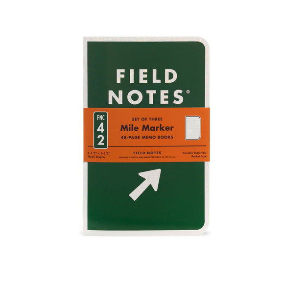 Field Notes - Spring 2019 Mile Marker