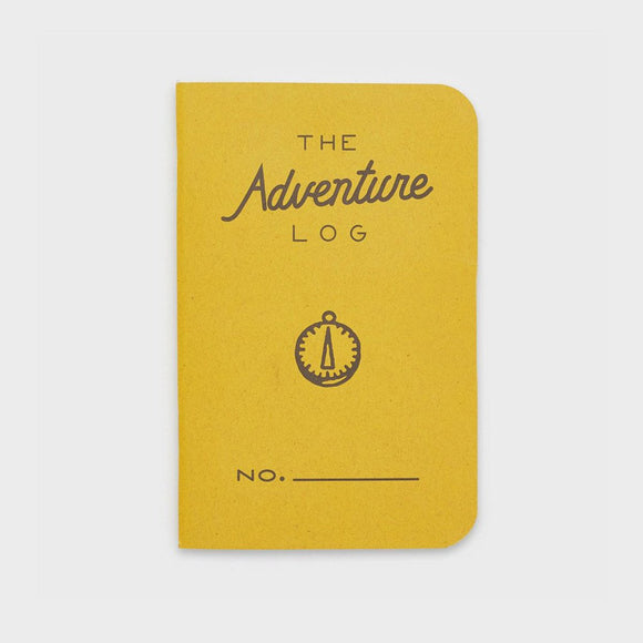 Word Notebooks - The Adventure Log - Yellow Set of 3