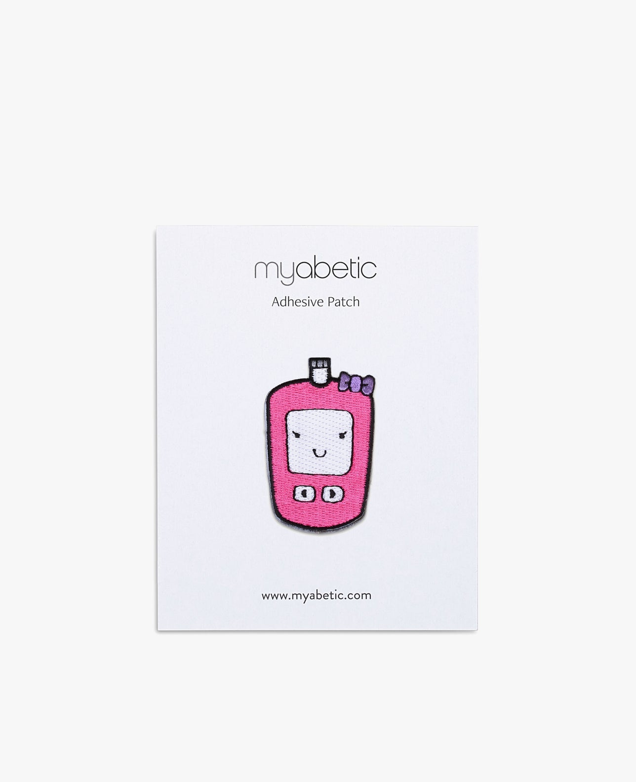 Patch: Pink Glucose Meter