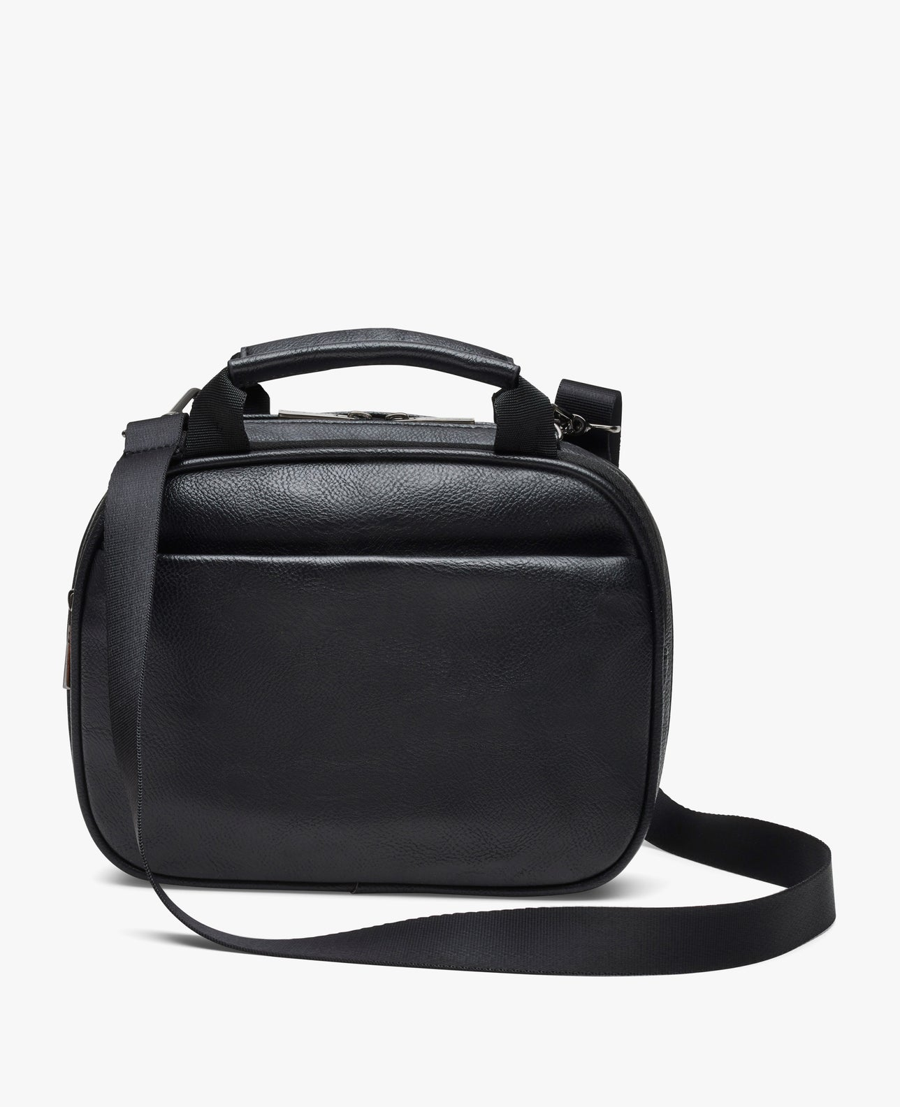 color:Black Vegan Leather