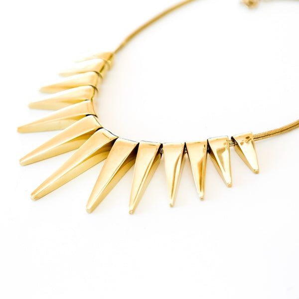 Sun Rays Necklace-Women - Jewelry - Necklaces-BISJOUX-The Luxury Upgrade