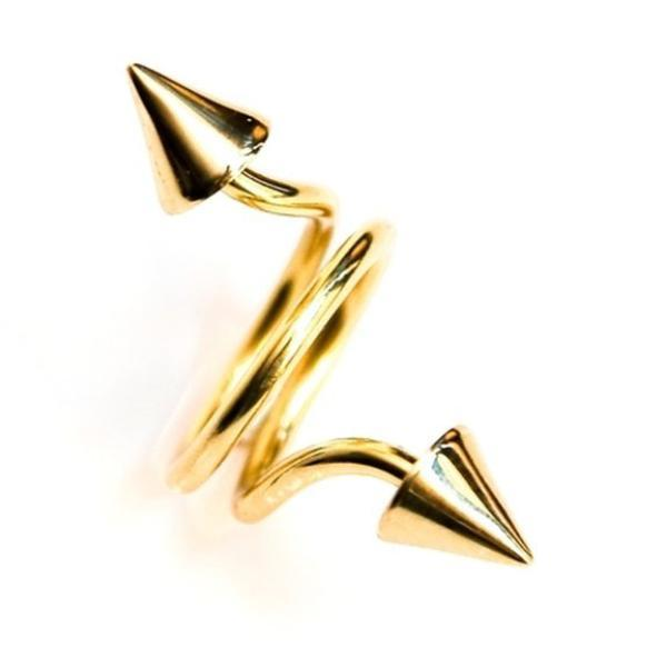Double Spike Ring-Women - Jewelry - Rings-BISJOUX-The Luxury Upgrade