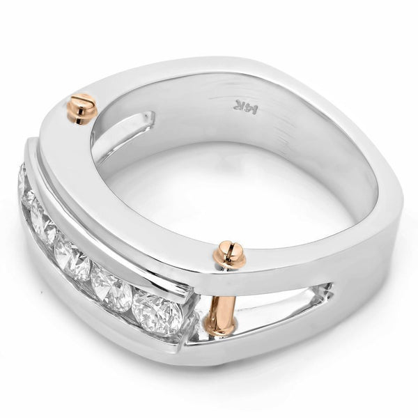 PMI 14WY@15.40 5RD1+@1.29 CHANNEL SET-Rings-Prime Mountings Inc.-The Luxury Upgrade