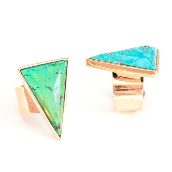 Turquoise Peak Ring-Women - Jewelry - Rings-BISJOUX-The Luxury Upgrade