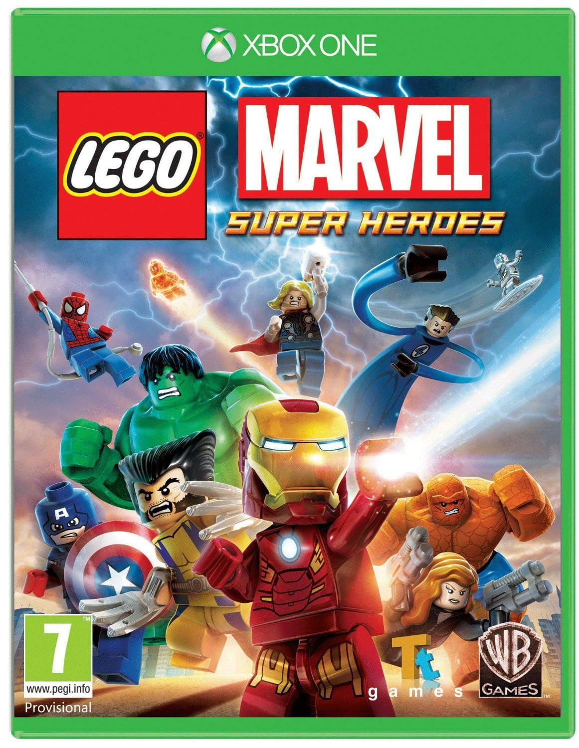 Buy Lego Marvel Super Heroes (XBOX ONE) XBOX ONE in Egypt - Shamy Stores