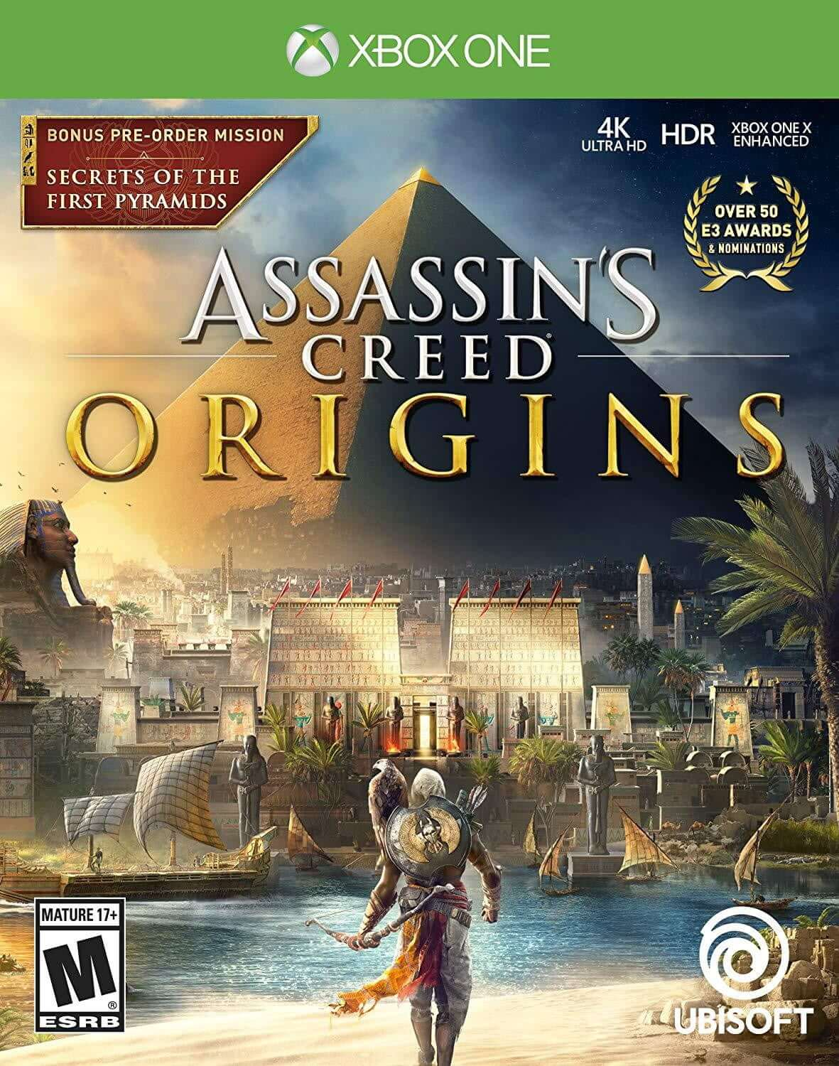 Buy Assassin's Creed Origins (XBOX ONE) XBOX ONE in Egypt - Shamy Stores