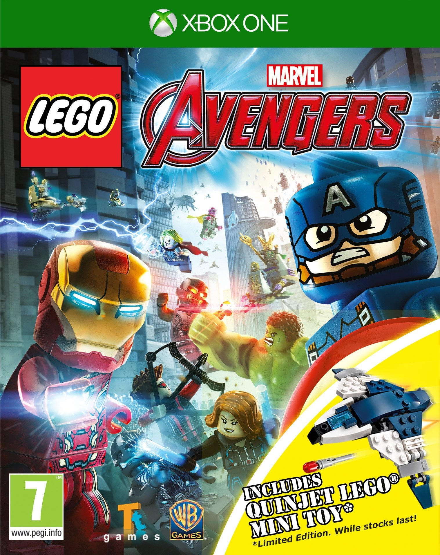 Buy Lego Marvel Avengers (XBOX ONE) XBOX ONE in Egypt - Shamy Stores